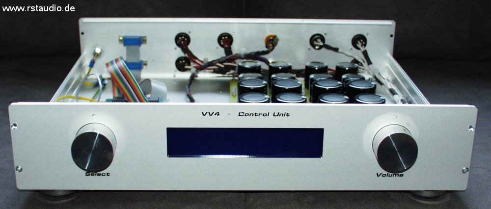 VV4 Control Unit Front View