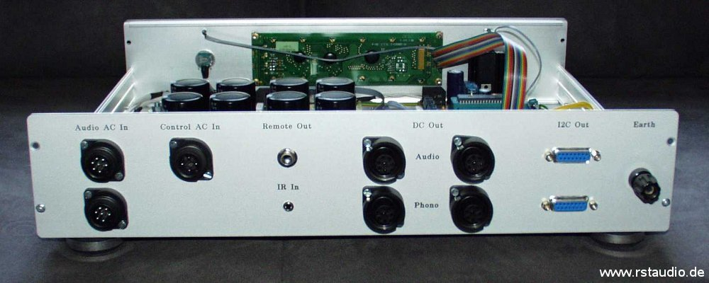 VV4 Control Unit from behind