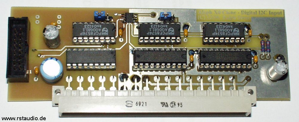 VV4 Audio Unit – I²C-Bus Steuerplatine