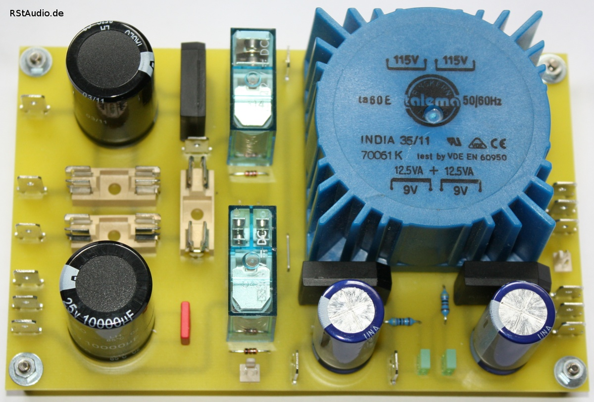 Power Supply for the Control System