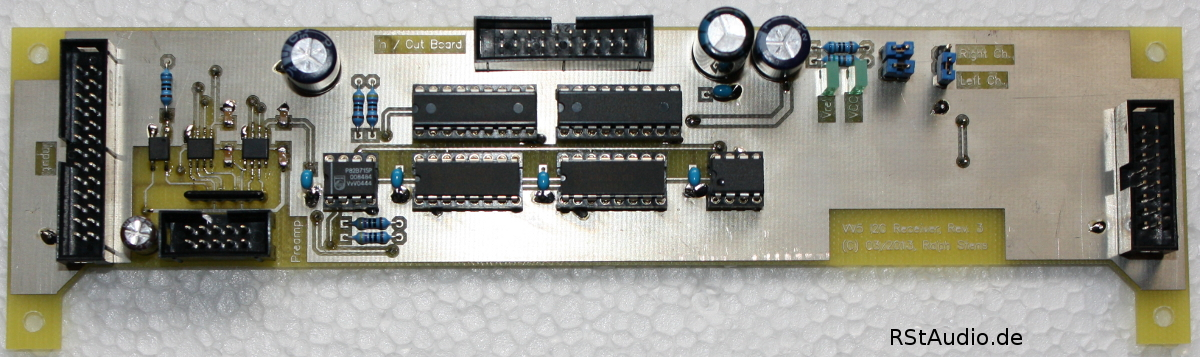 Control Board of the Inputs and Outputs