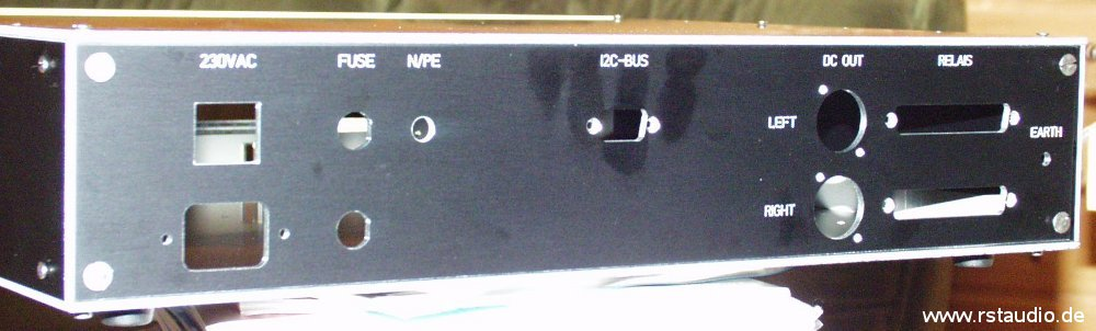 Back of the Control Unit