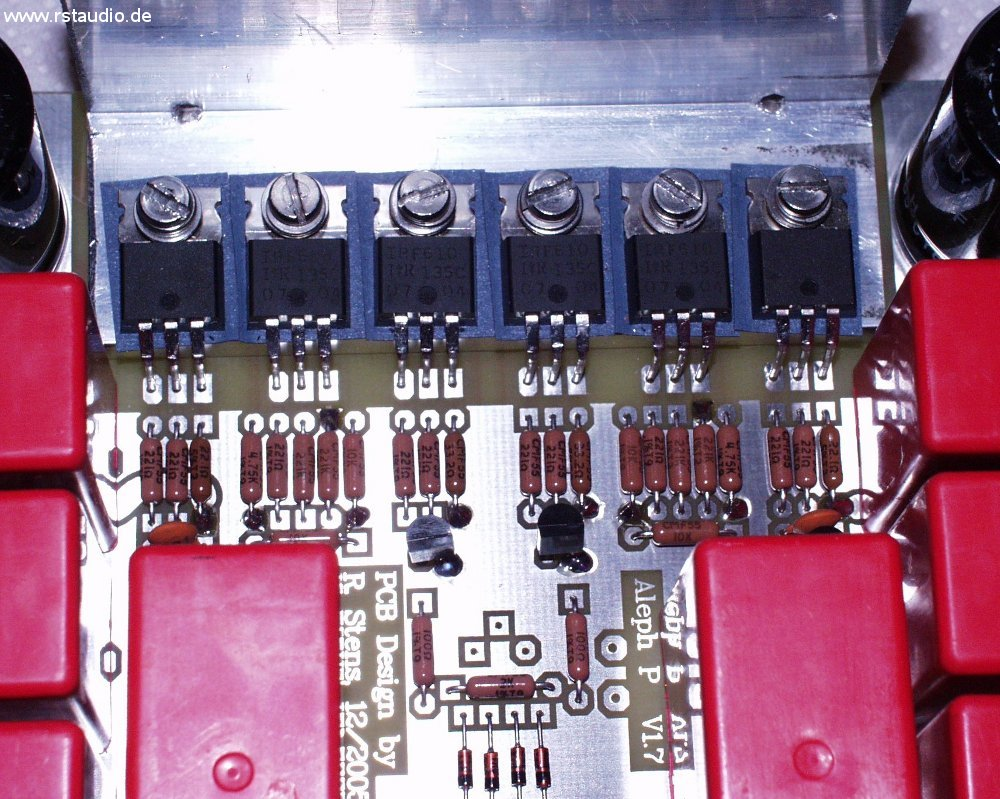 Preamplifier with Dale Resistors