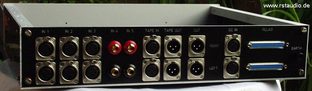 Back of the Audio Modul