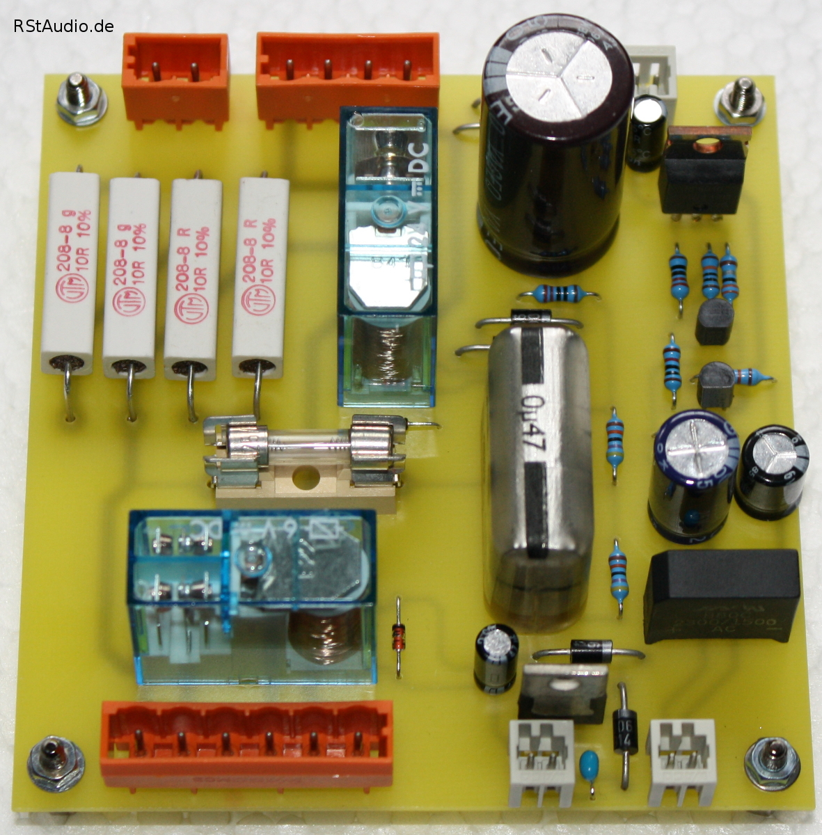 Es4 Pass Xa305 Clone Labs Aleph2 Diy Amplifier Kkpcb Layout Board With Inrush Current Limiter And Remote On Off