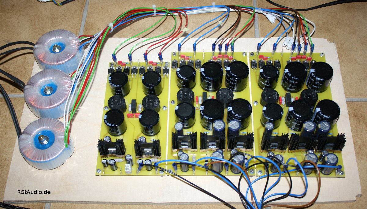 Prototype of the DAC Power Supply