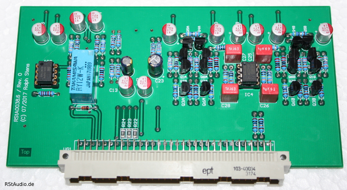 Diamond Buffer Preamp Board