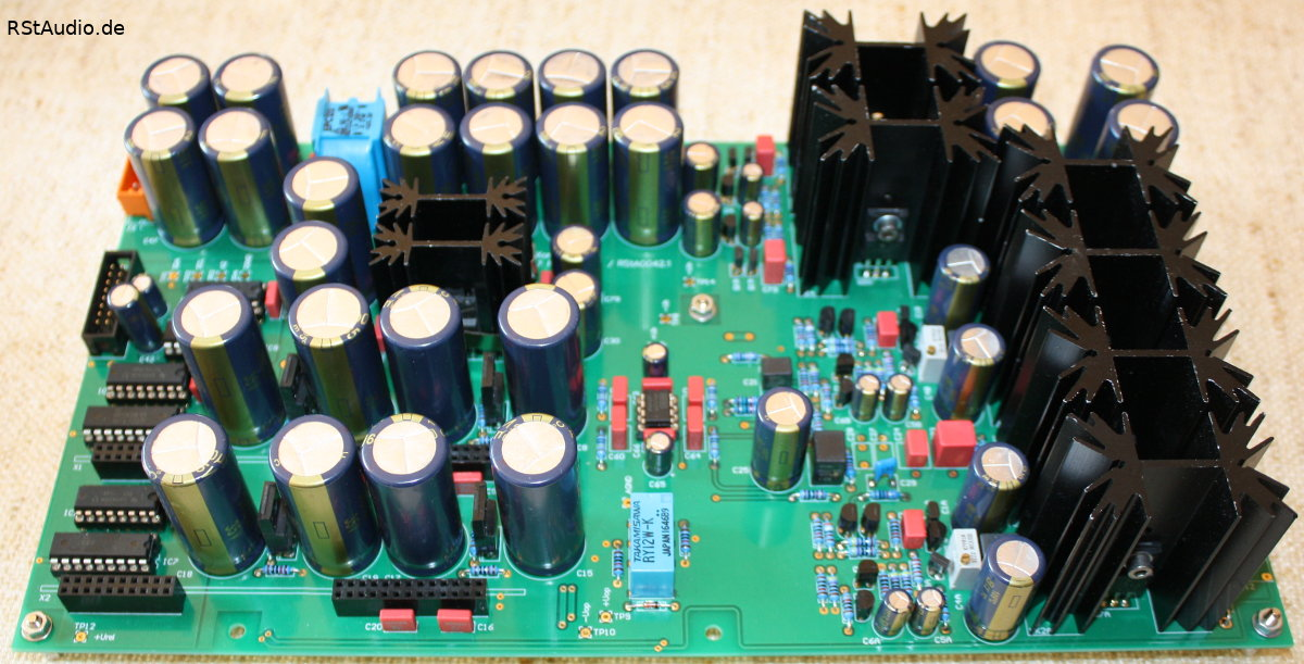 Main Board with RIAA Equalization