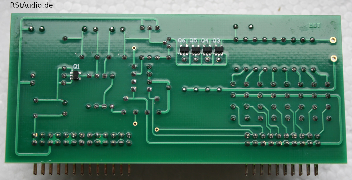 Bottom Side of the XOno MC Preamplifier with the 2SK2145